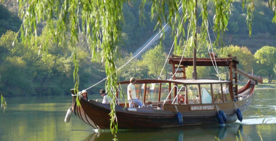 Barcos Rabelos on Tua