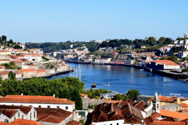 River Douro from Porto