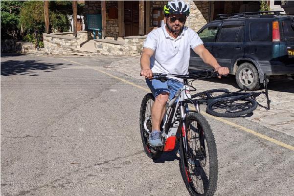 Joseph Joseph and E-Bike in Cyprus